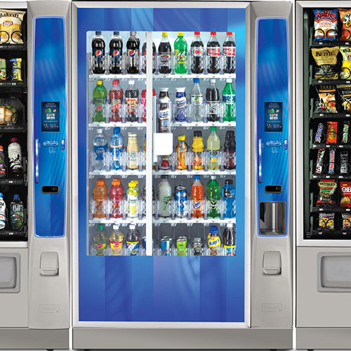 State-of-the-art vending machine technology